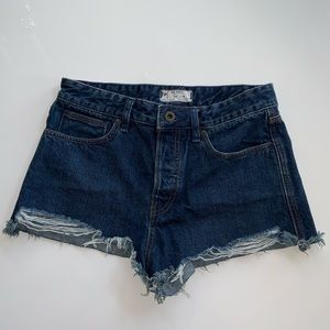 Pants - Free People jean shorts